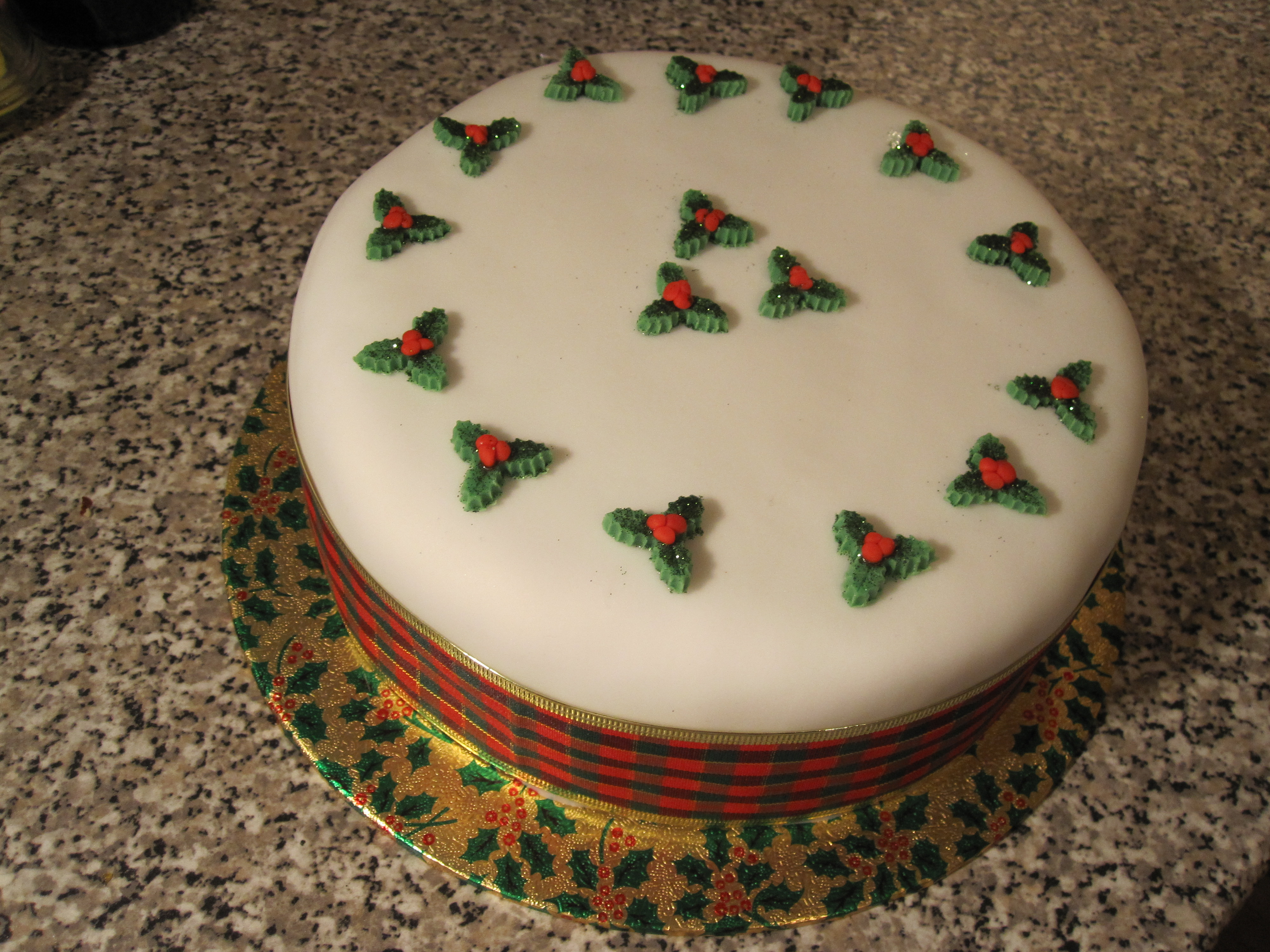 How to make christmas cake - The Great Thing About This Cake