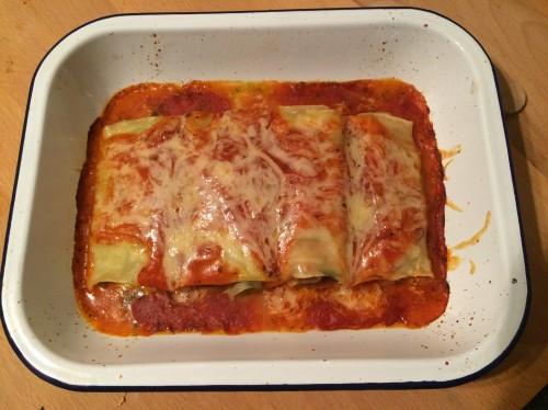 Ricotta Veggie Lasagna Rolls